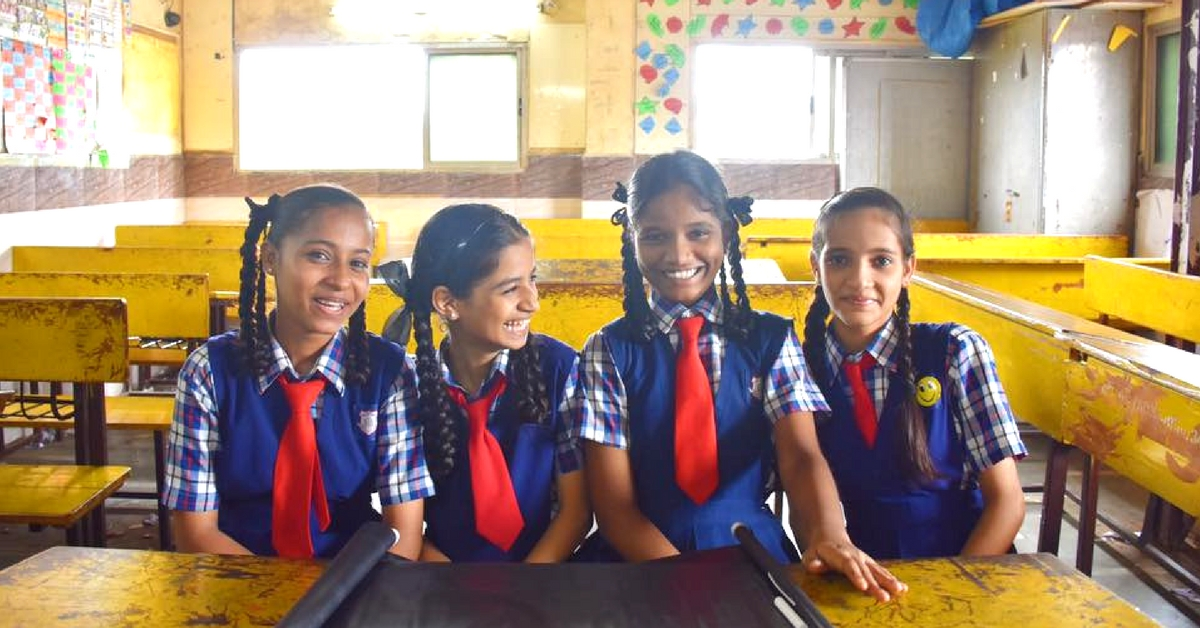 How a Crime Ridden Mumbai Slum Is Keeping Its Girl Students in School