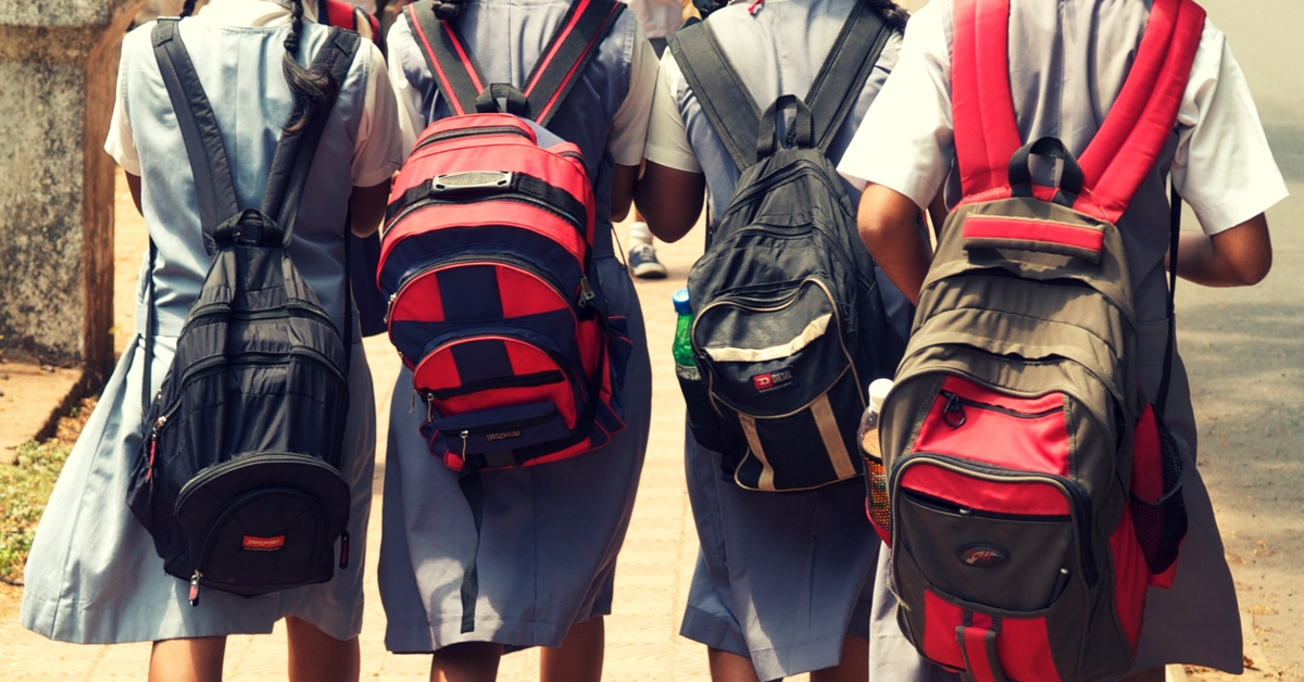 Kids Weighed down by School Bags? Here's What the Future of Education Can Look Like