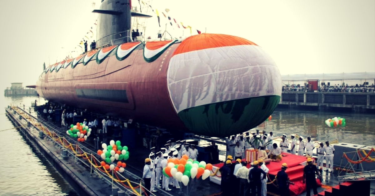 INS Kalvari S50. Picture Courtesy: Wikimedia Commons.