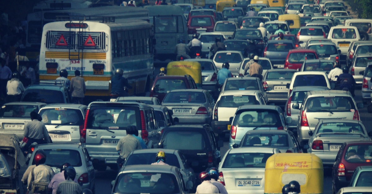 India is no stranger to terrible traffic jams. Representative image only. Picture Courtesy: Wikimedia Commons.