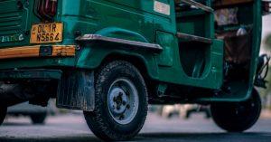 QR code e-rickshaws autos Delhi