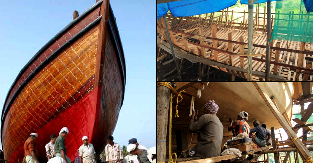 At This Ancient Seaside Haven in Kerala, Ships Are Built Entirely By Hands!