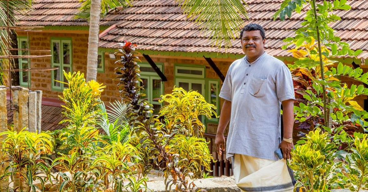 This Kerala Man Built a Huge House Entirely from Waste, Without Cutting a Single Tree!