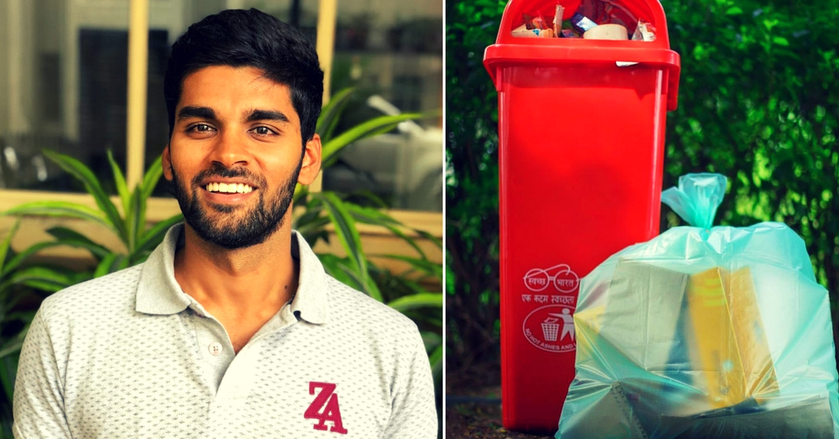 This Young Man Quit His Job in the US to Solve Tamil Nadu's Plastic Problem