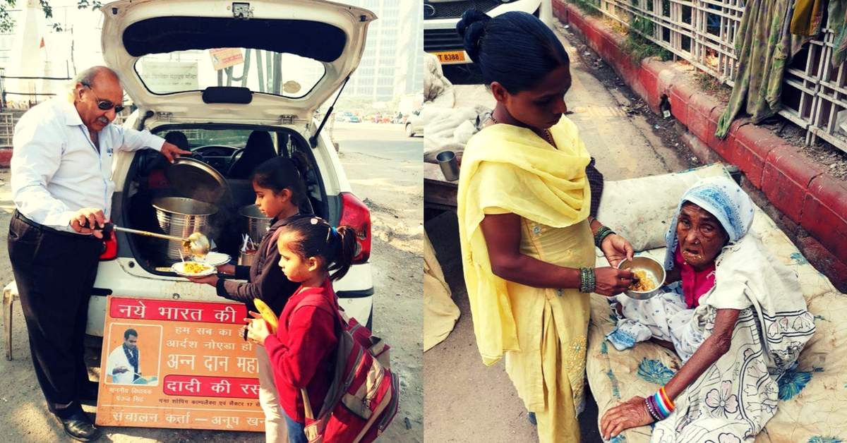 Meet the Man Who Feeds 500 People Full Meals for Only Rs 5 Apiece!