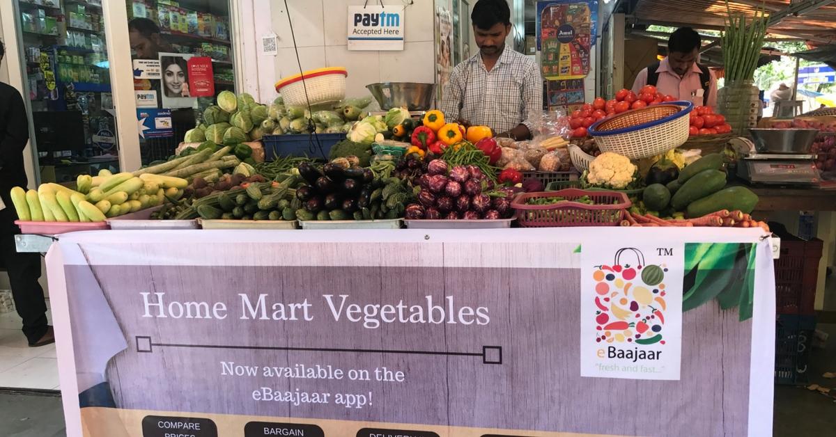 You Can Buy Fresh Veggies From Street Vendors & Bargain – All Through an App!