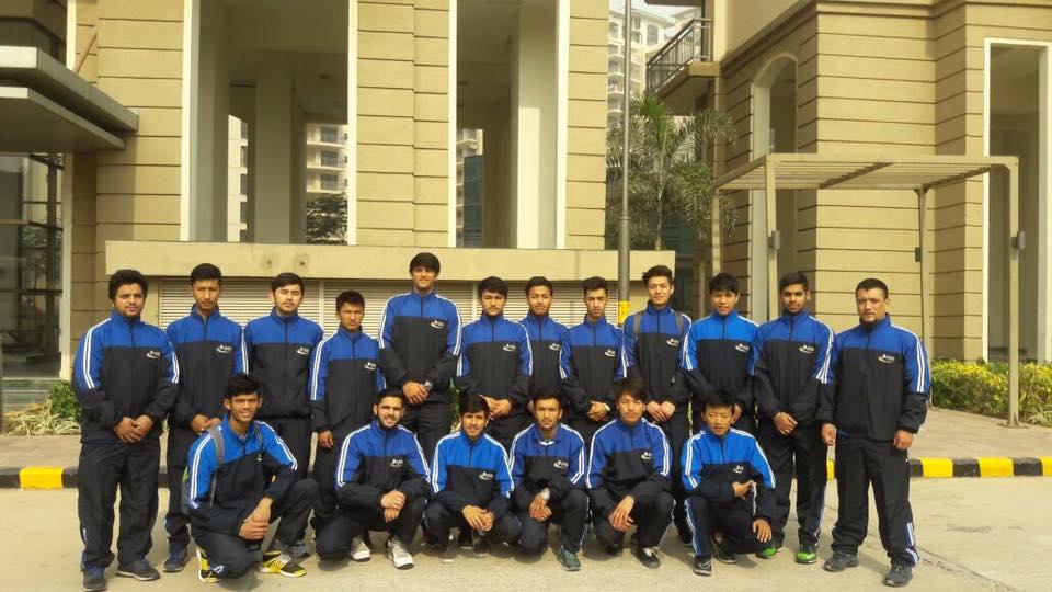 Under-20 Ice Hockey squad (Source: Ice Hockey Association of India)