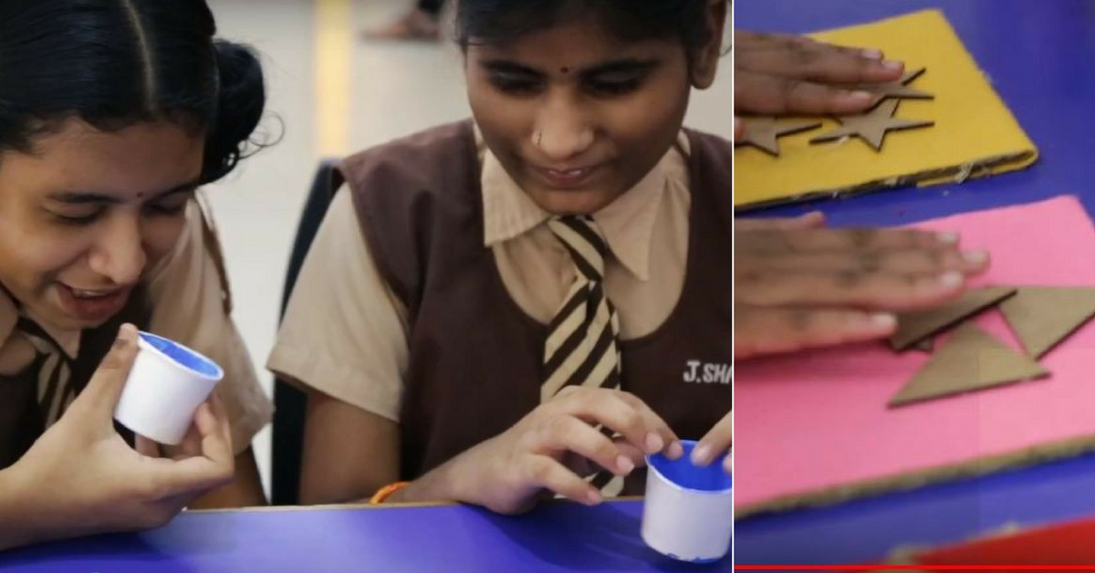 Hyderabad School Kids Build World's First Arcade For The Visually Impaired