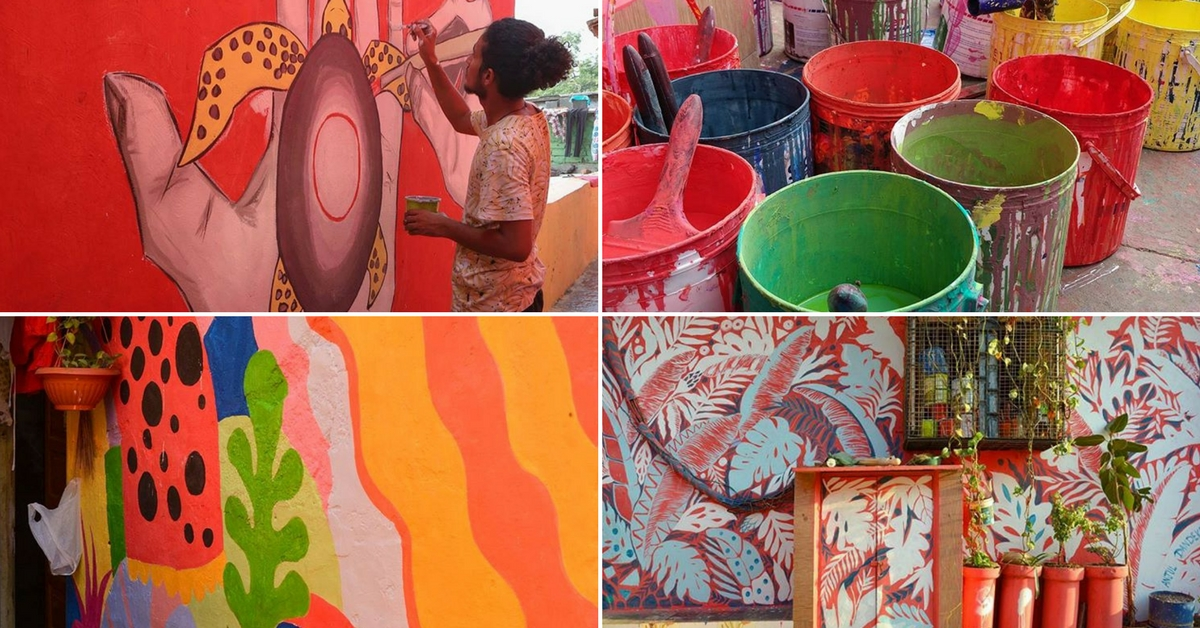Police Stations to Autos, Chal Rang De is Giving Mumbai A Colourful Makeover!