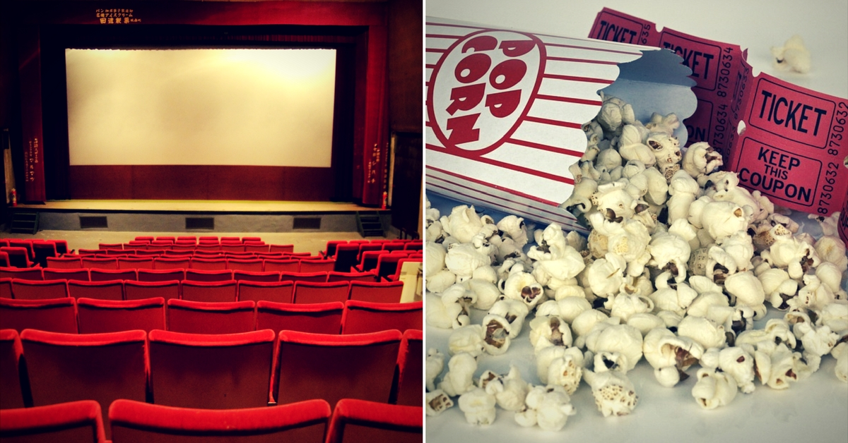 Food sold in cinemas is unusually expensive.Representative image only.Image Courtesy:Wikimedia Commons.