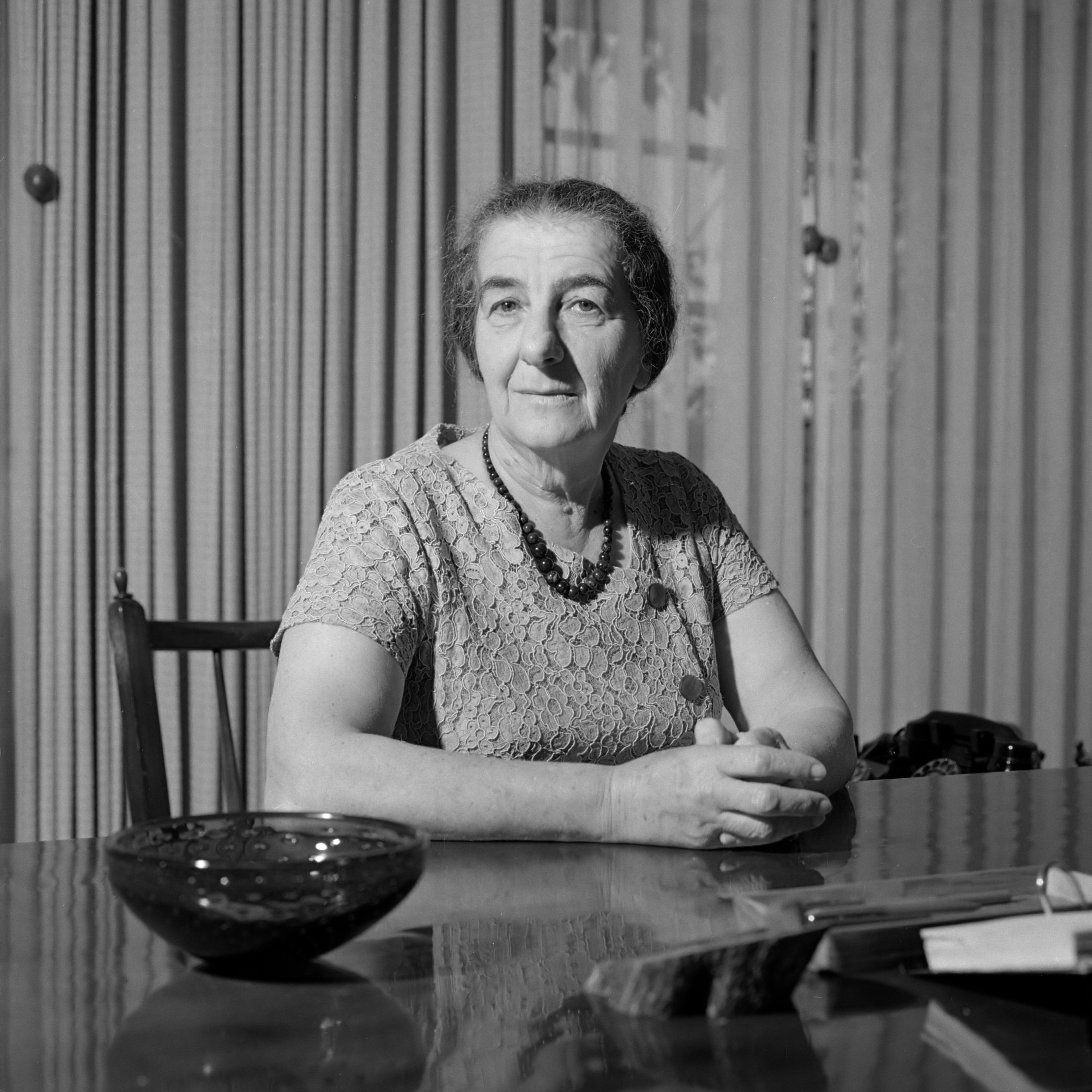 Former Israel PM Golda Meir. (Source: Wikimedia Commons)