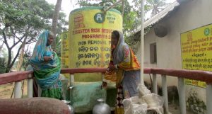 Iron removal plants have made tube well water potable, reducing water-borne diseases drastically. (Photo by Rakhi Ghosh)