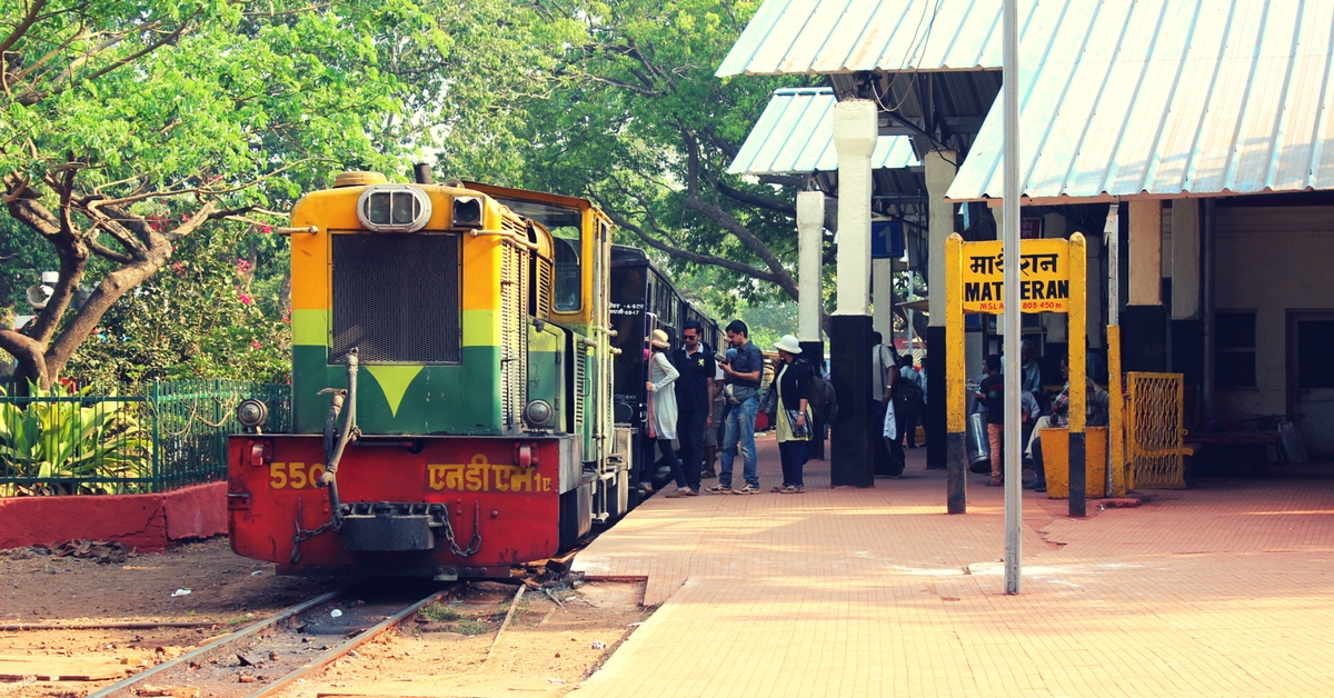 With New Crash Barriers, the Iconic 110-Year-Old Matheran Toy Train Resumes Service