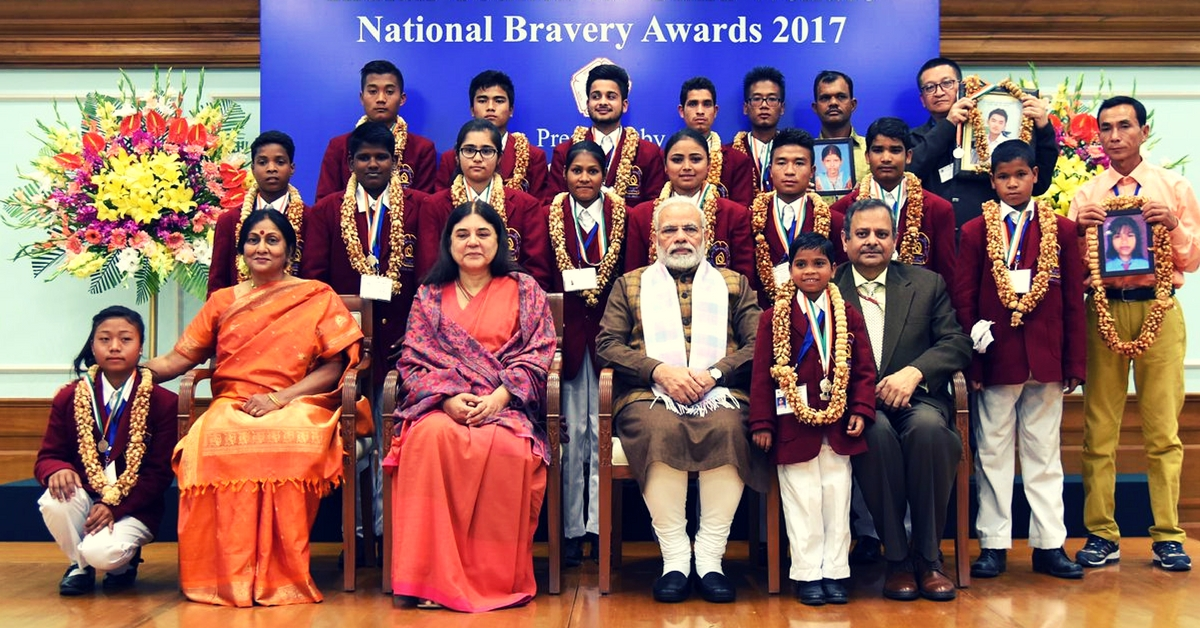 In Pics: 18 Fearless Kids Who Won the National Bravery Award 2017!