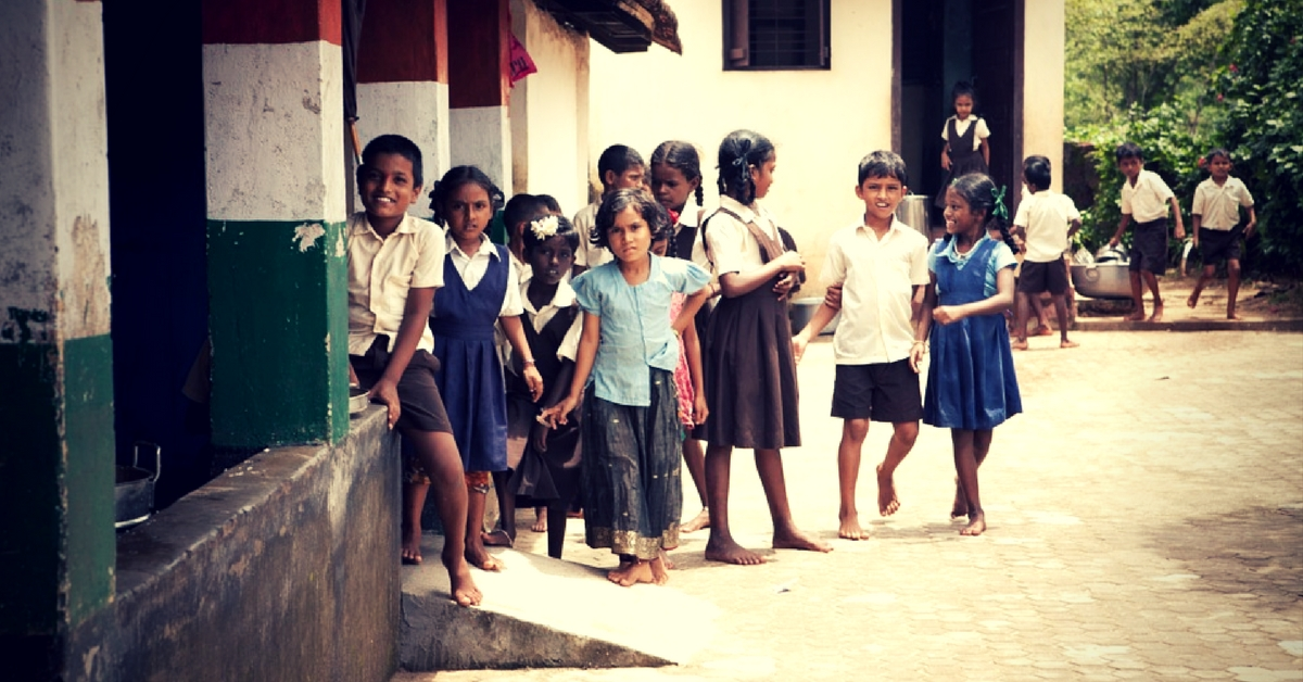 Noble Effort! These Kids Donated Their Pocket Money to Refurbish a Govt School