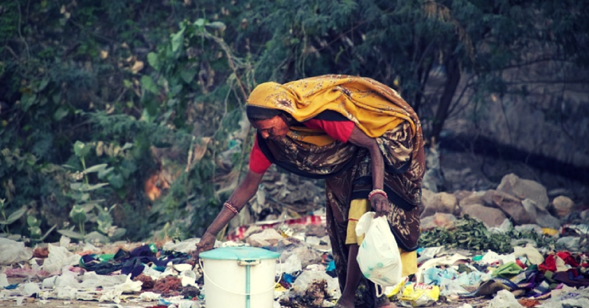 Sweepers often pick up trash, requiring them to bend frequently, a tedious process.Representative image only.Image Courtesy:Max Pixel.