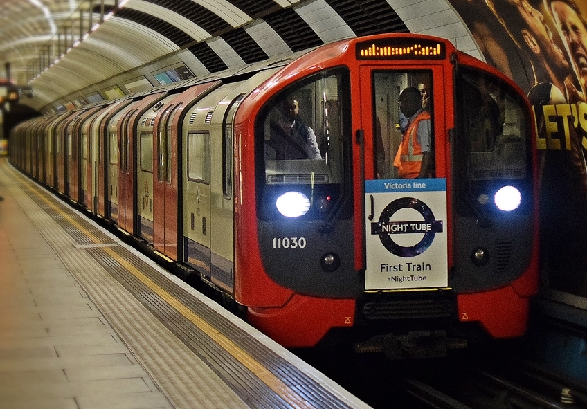 London's tube system. For representational purposes only. (Source: Wikimedia Commons)