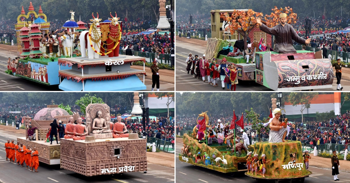 Republic Day 2018: Check Out the Unique Floats in The Parade This Year