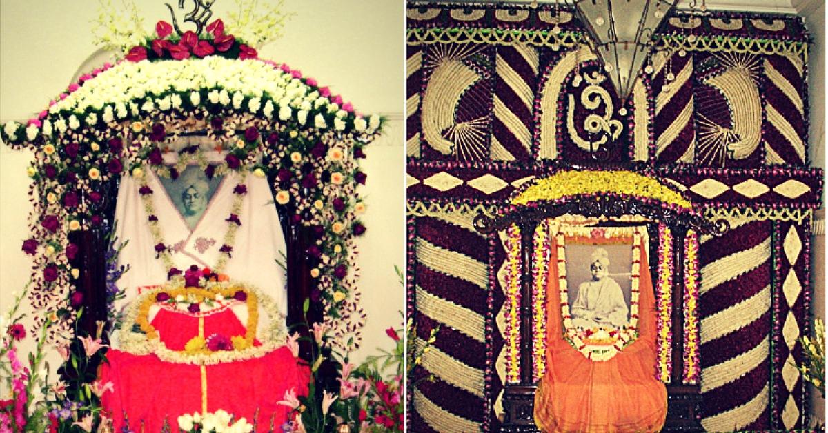 The shrine, marking the birth place of Swami Vivekananda. Image Courtesy: Vivekananda Home.