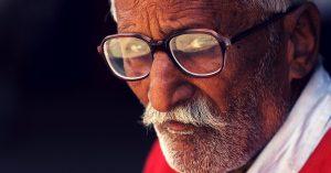 elderly Raipur Bapu ki kutiya