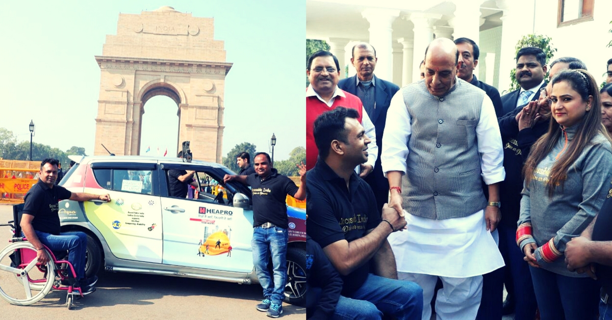 How a Paraplegic Man Drove Across India, and Right Into the Record Books!