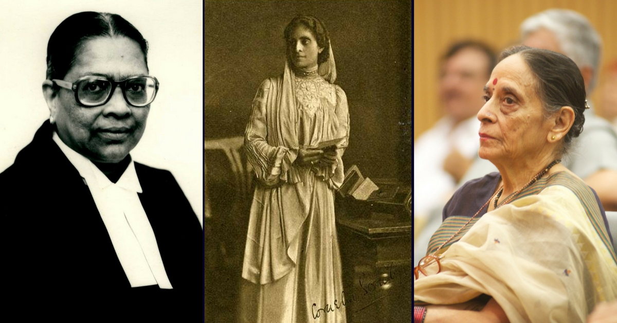 Not Just a Man's World: 5 Times Women Blazed a Trail in Indian Judiciary