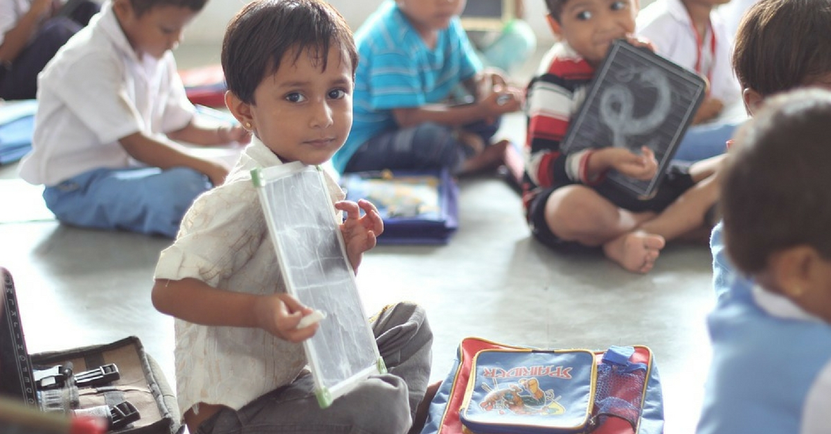Teaching Kids the Right Lessons: Why There Is No Such Thing as 'Can't' at Lokshala