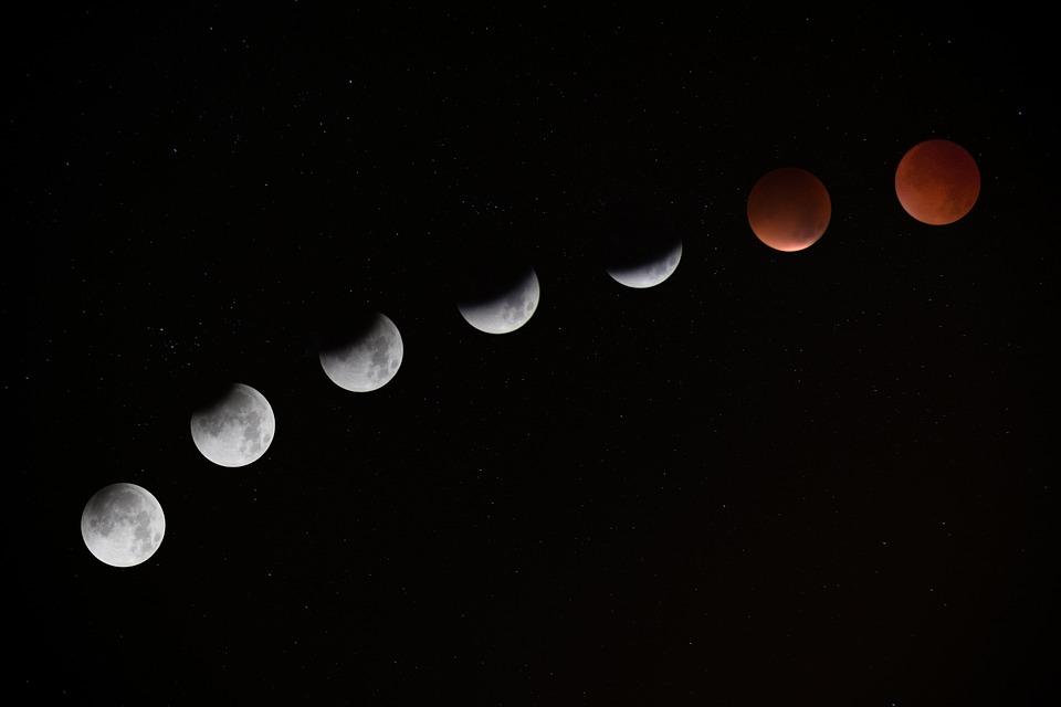 super blue blood moon Kerala