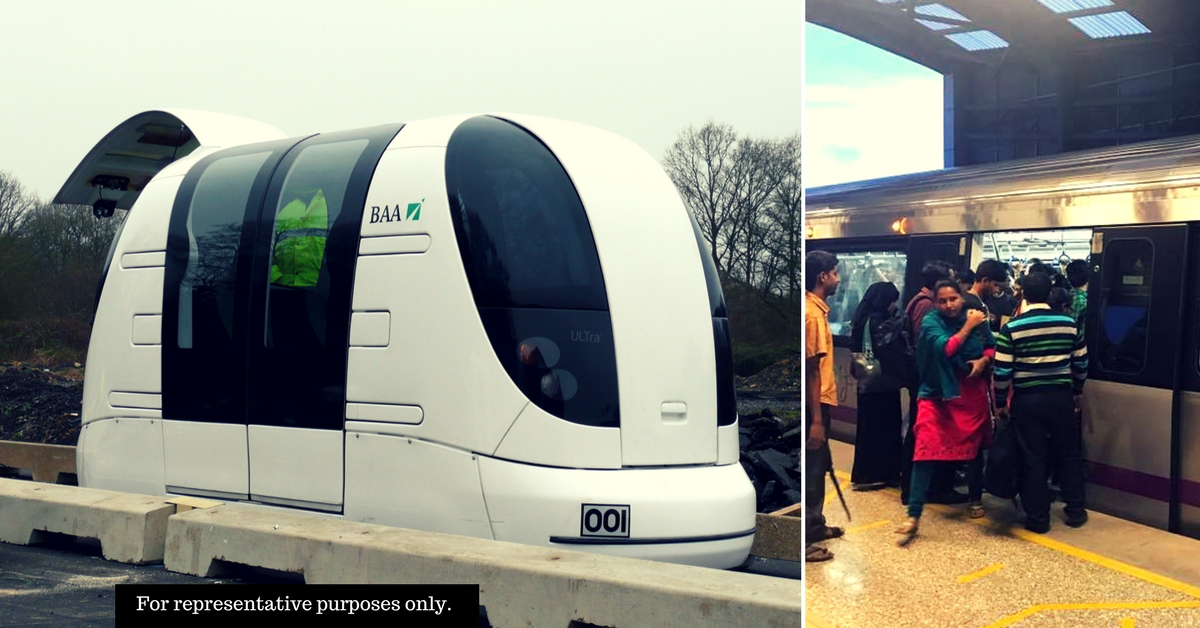 Thane May Get Driverless 'Metrino' Pods to Connect Metro Stations