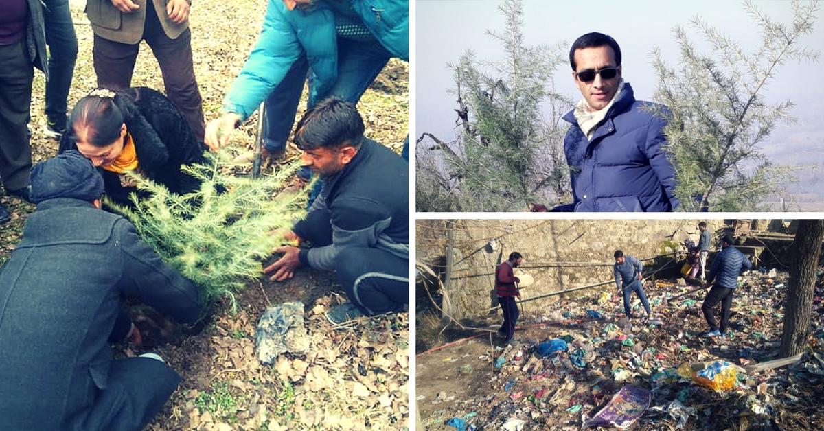 Kashmiri Journalist-Turned-Ecowarrior's Amazing Plan Involves 1 Crore Trees!