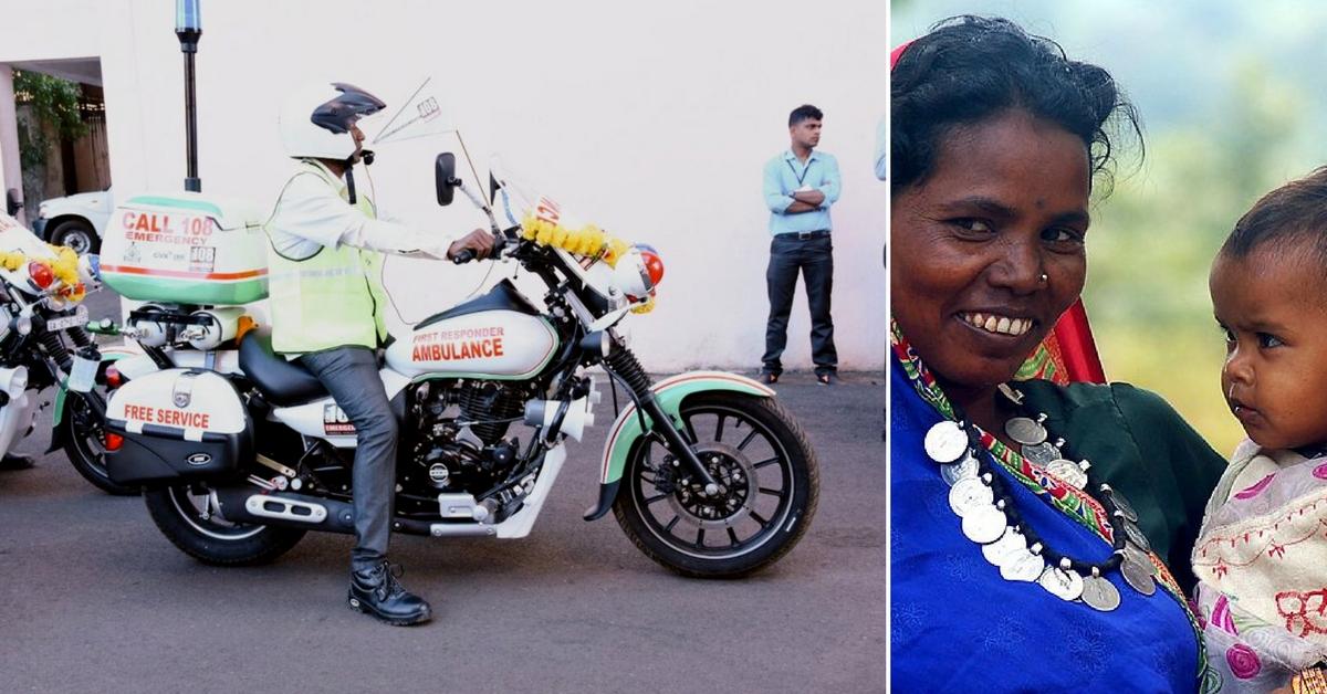 CRPF's Bike Ambulances to Take Care of Sick & Injured in Naxal-Hit Bastar!
