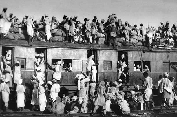 Millions migrated from Pakistan into India during Partition. (Source: Wikimedia Commons)