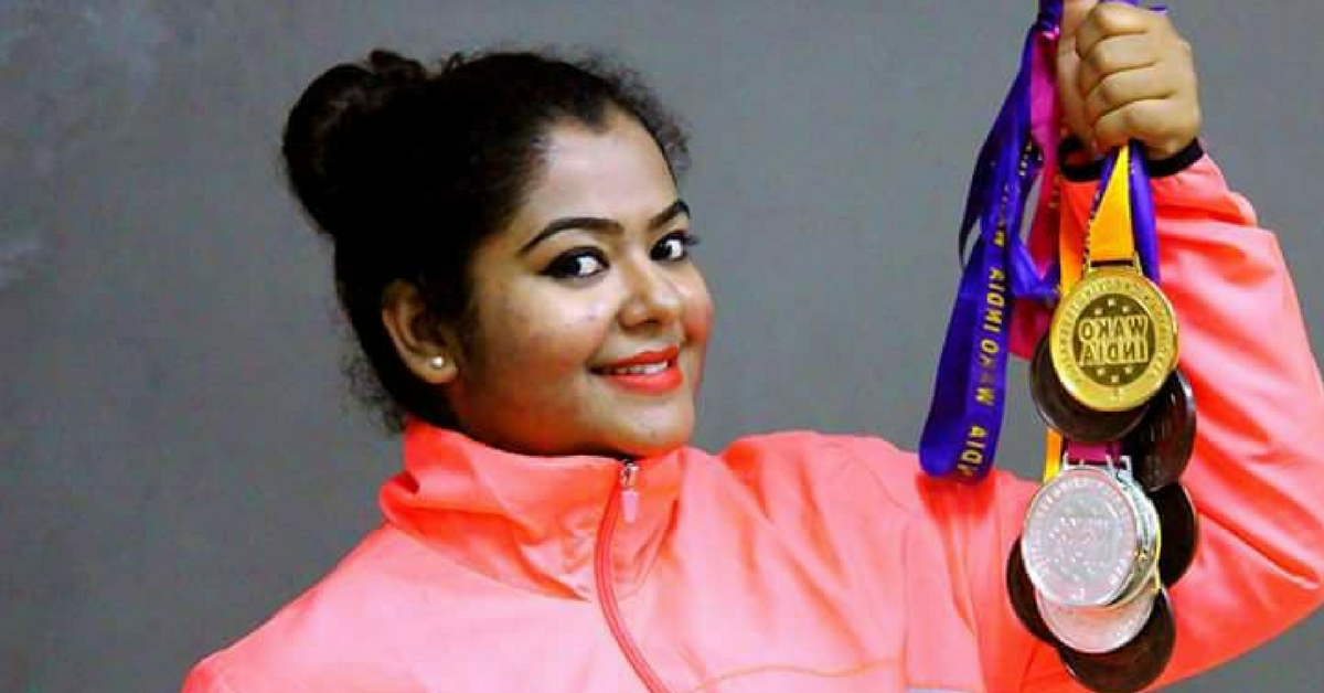 Video: South India's 1st Certified Woman Kickboxing Coach Is Smashing Barriers!