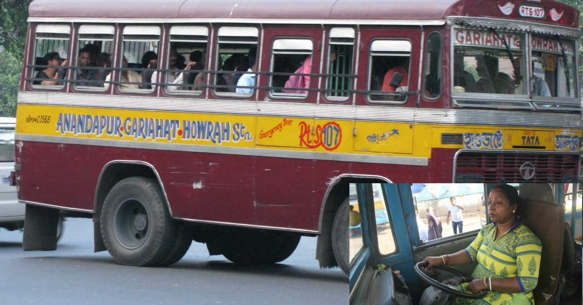 This Gritty Mother of Two Girls is Kolkata's First Female Bus Driver!