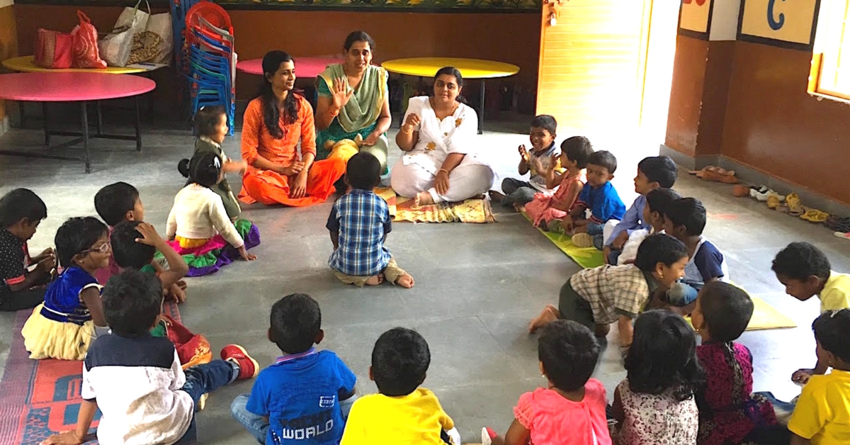 Underprivileged Kids Need Teachers & New Ideas. This Bengaluru Org Is Giving Them Just That!