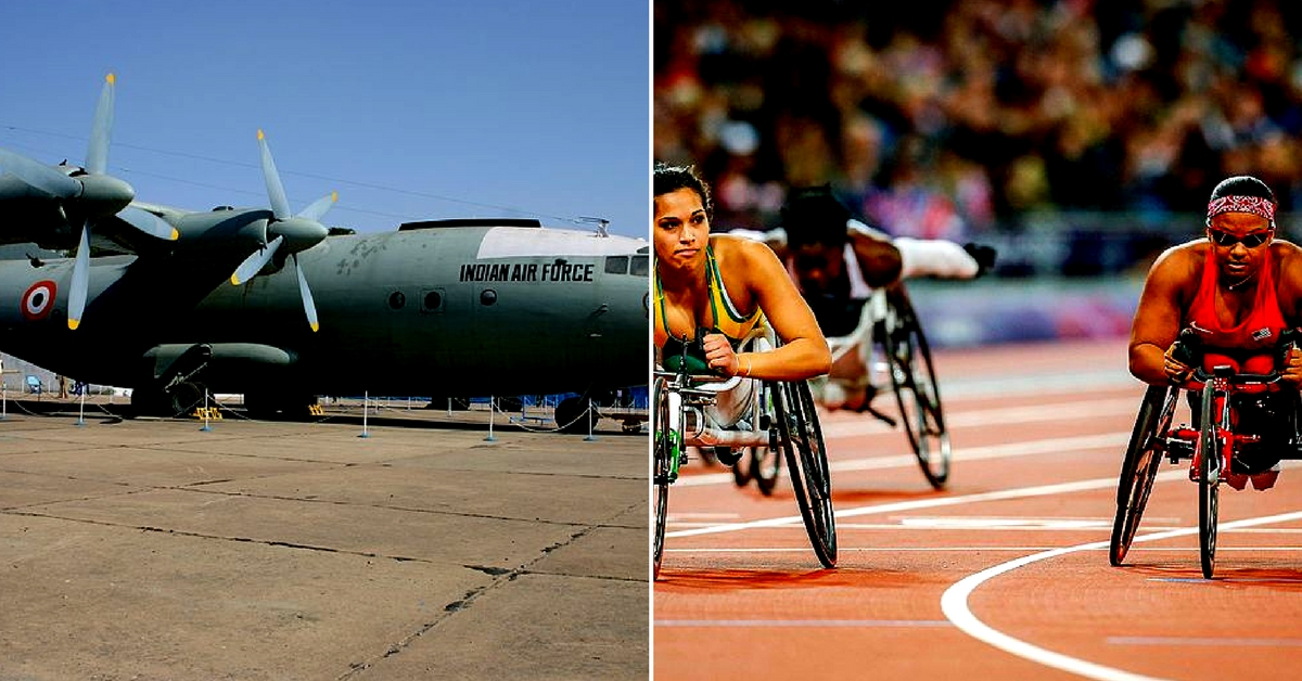 The Indian Air Force is organising a Paralympics event for children of air warriors, hoping it will groom them to take up sports.Representative image only. Image Courtesy: Wikimedia Commons.