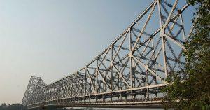 The iconic Howrah Bridge turned 75.Image Courtesy: Wikimedia Commons.