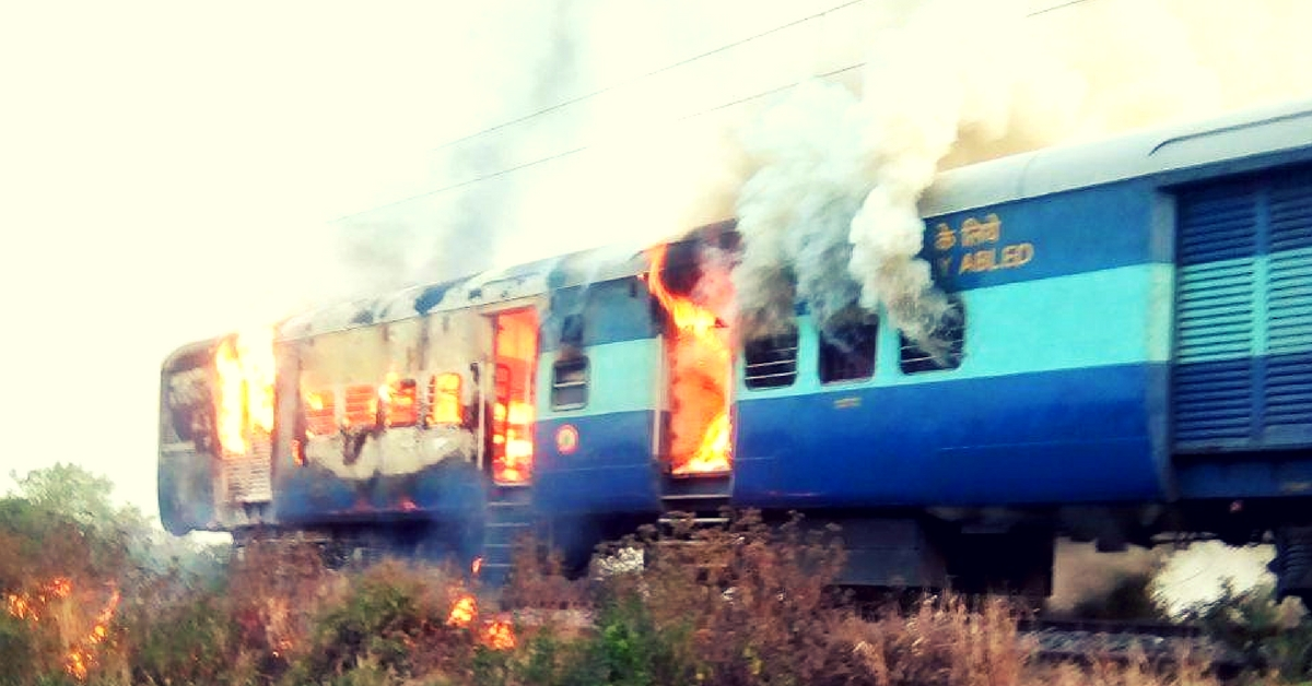 Fire in Toofan Express: Alert Train Driver's Quick Action Saves Passengers!