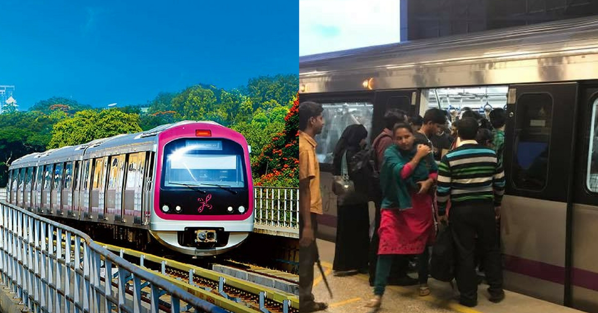 Come March, First Two Doors of Bengaluru Metro Will Be Exclusively For Women!