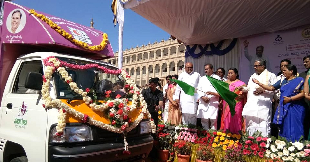 Women on Wheels: Savi Ruchi Mobile Canteens to Serve Food Across Karnataka!