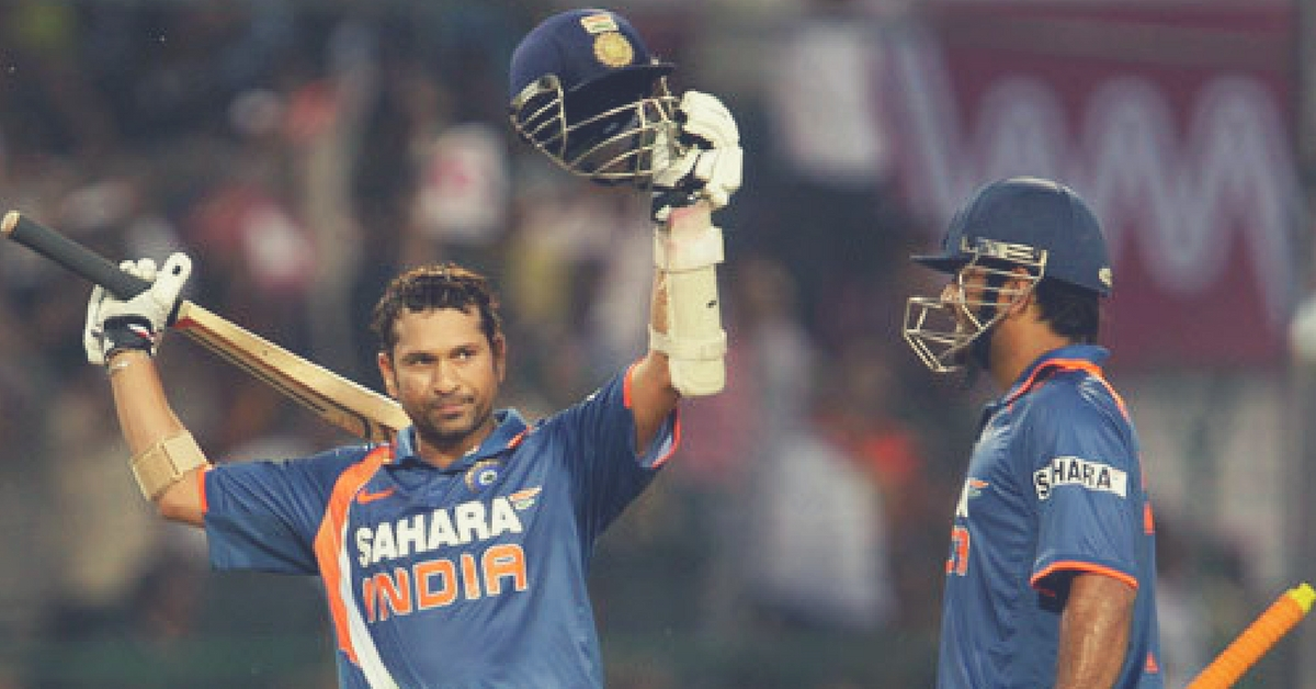On This Day: Sachin Became The First Batsman in History to Reach 200 in An ODI