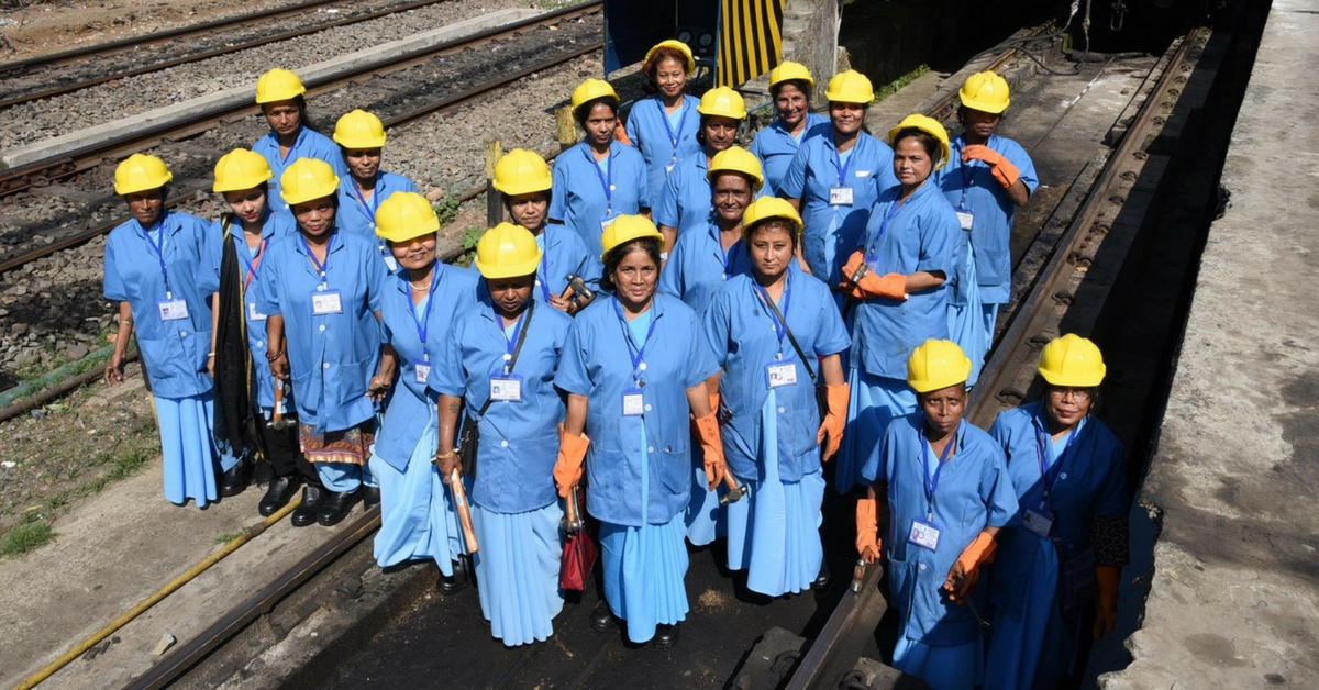 This Women 'Gang' Smashed a 165-Year-Old Glass Ceiling in NE Frontier Rail
