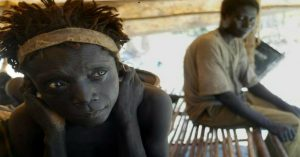 The Jarawa are treated as a tourist attraction. The showcasing of indigenous people for profit is wrong. Image Courtesy: Twitter