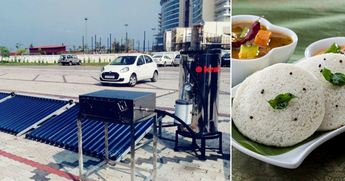 Idlis Powered by The Sun? This Kerala Firm's Awesome Innovation Makes Them!