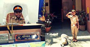Mumbai police cancer kid (1)