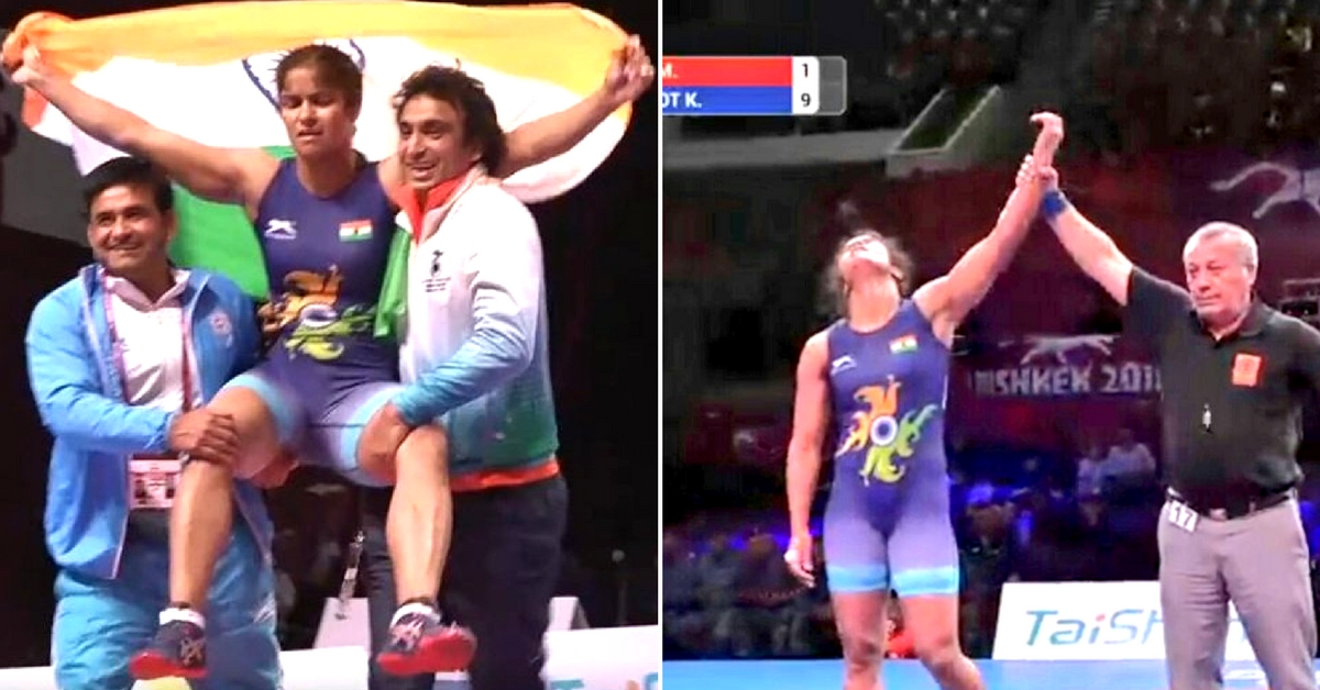 In a First, Navjot Kaur Grabs Gold for India in Asian Championships