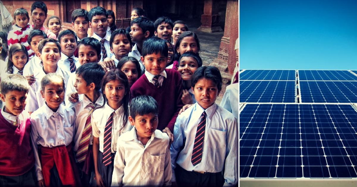 Schools in West Bengal are all set to be solar-powered.Representative image only. Image Courtesy: Flickr