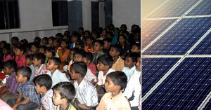Schools in West Bengal, will be solar powered, setting a great example for future generations. Representative image only. Image Courtesy: Wikimedia Commons.