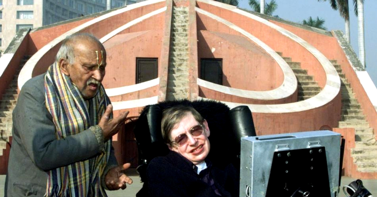 Stephen Hawking's Indian Odyssey: Remembering the Celebrated Theorist's Visit