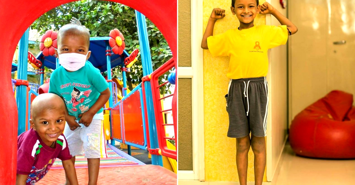 The children bond and manage to have fun, despite fighting cancer. Image Courtesy: St Jude India Child Care Centre